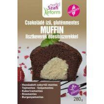Szafi Reform SZAFI REFORM Csokoládé ízű muffin lisztkeverék édesítőszerrel (gluténmentes, paleo) 280g